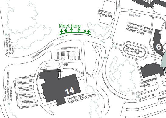 Map of Shane Creek Reforestation